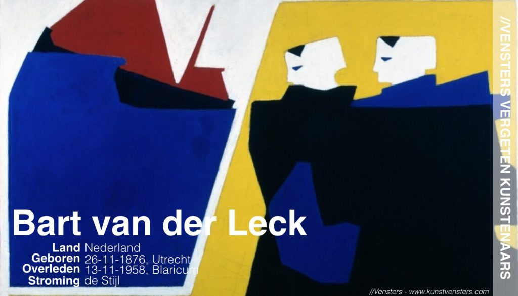 Wie is Bart van der Leck?