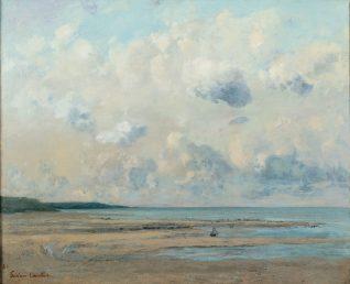 Gustave Courbet - Rivage près de Honfleur