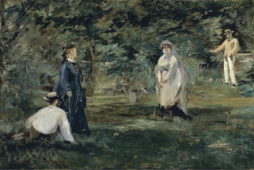 Edouard Manet - Krocketpartij