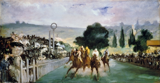 Edouard Manet - Races à Longchamp