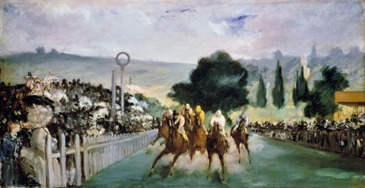 Edouard Manet - Races à Longchamp
