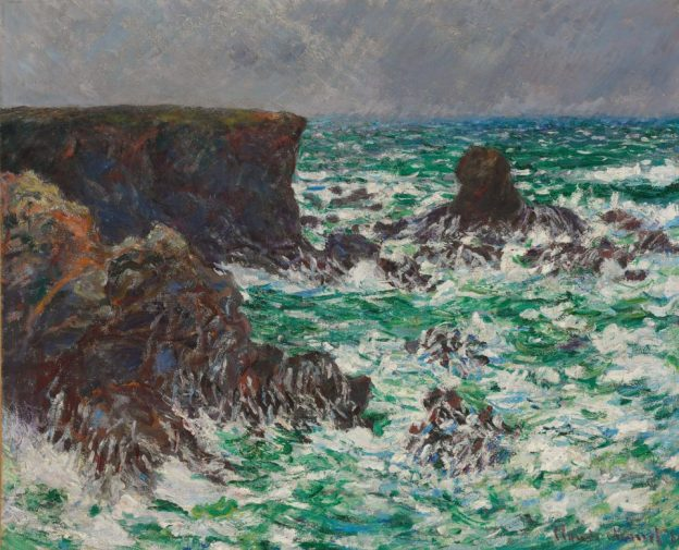 Claude Monet - Port Coton: Le Lion