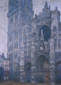 Claude Monet - Toren-aanzicht Kathedraal Rouen