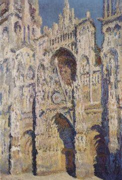 Claude Monet - Volle zon Kathedraal Rouen