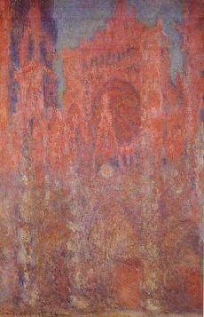 Claude Monet - Avond Kathedraal Rouen