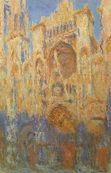 Claude Monet - Zonsondergang Kathedraal Rouen