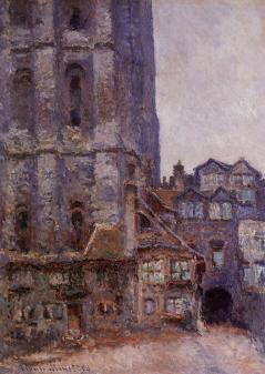 Claude Monet - Cour d'Albane