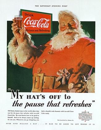 Haddon Sundblom - Coca Cola Advertentie 1931