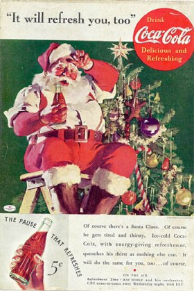 Haddon Sundblom - Coca Cola Advertentie 1935