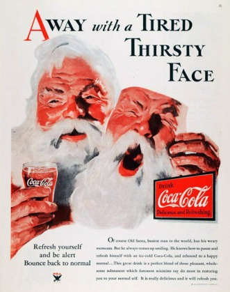Haddon Sundblom - Coca Cola Advertentie 1933