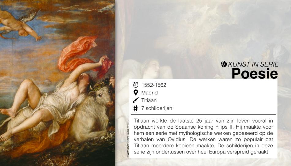 Kunst Serie - Titiaan - Poesie