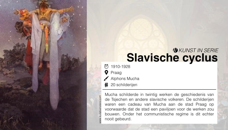 Kunst Serie - Mucha - Slavische Cyclus