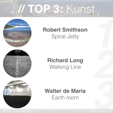 Kunstgeschiedenis - Top 3 Kunst - Land Art