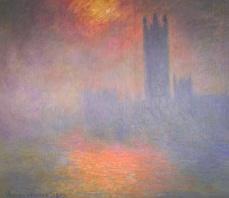 Houses of Parliament - Claude Monet