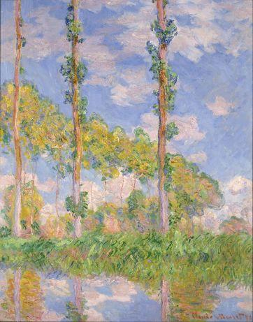 Populieren - Claude Monet