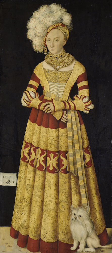 Lucas Cranach - Catharina, Gravin van Mecklenburg
