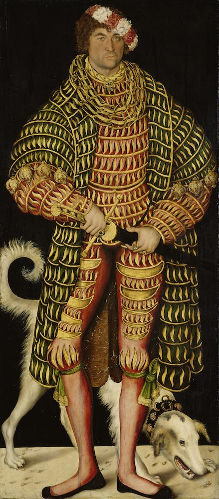 Lucas Cranach - Hendrik de Vrome, Hertog van Saksen