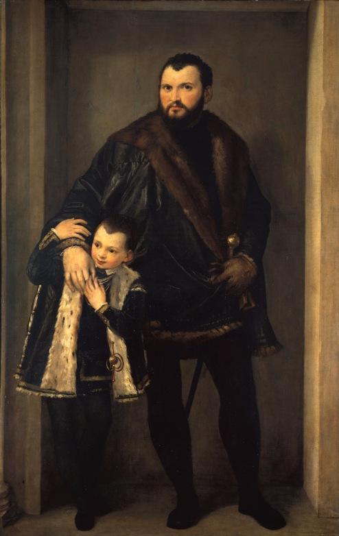 Paolo Veronese - Graaf Iseppo da Porto