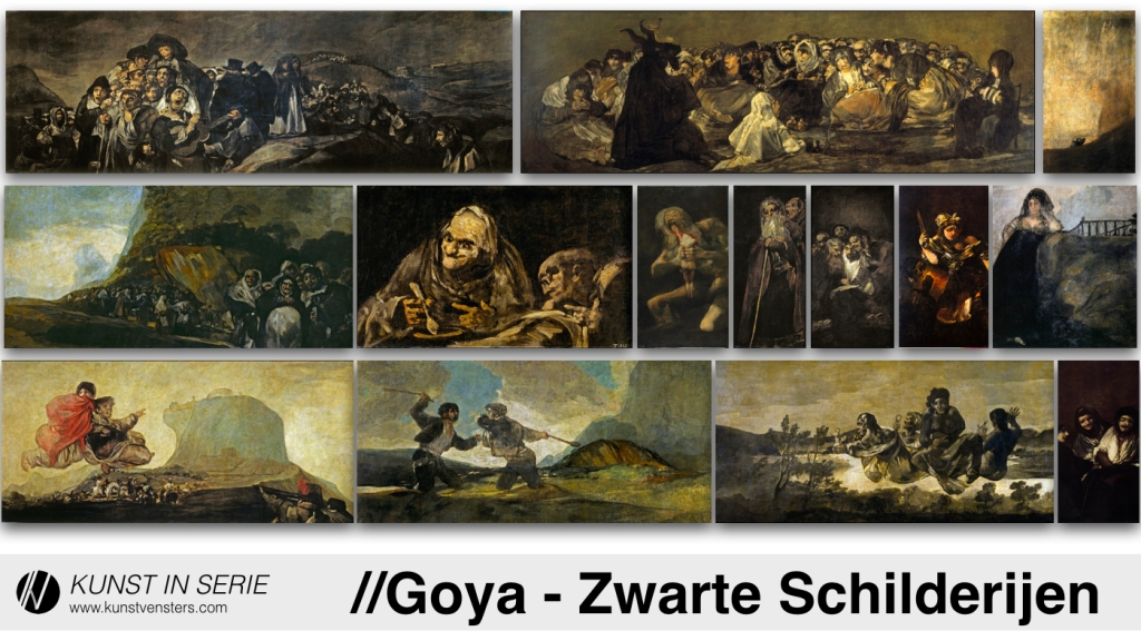 Goya - Zwarte Schilderijen - Black Paintings