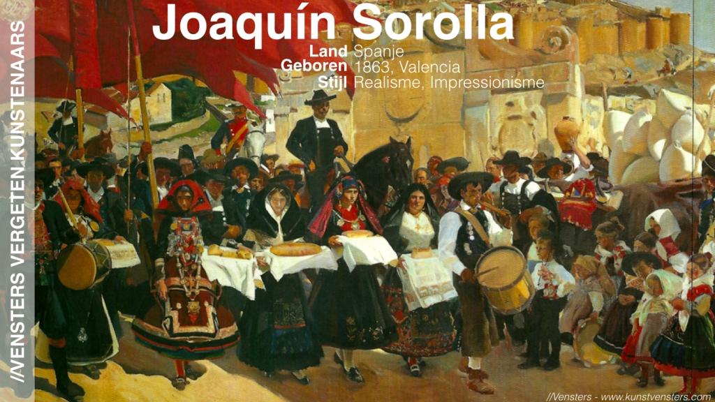 Vergeten Kunstenaar - Joaquin Sorolla