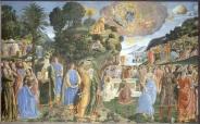 Cosimo Rosselli - Mozes komt van de berg
