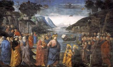 Domenico Ghirlandaio - de Roeping van de Apostelen