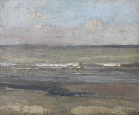 James Ensor - Grijze zee