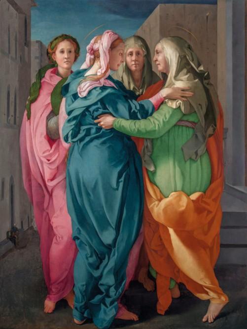 Jacopo da Pontormo - de Visitatie