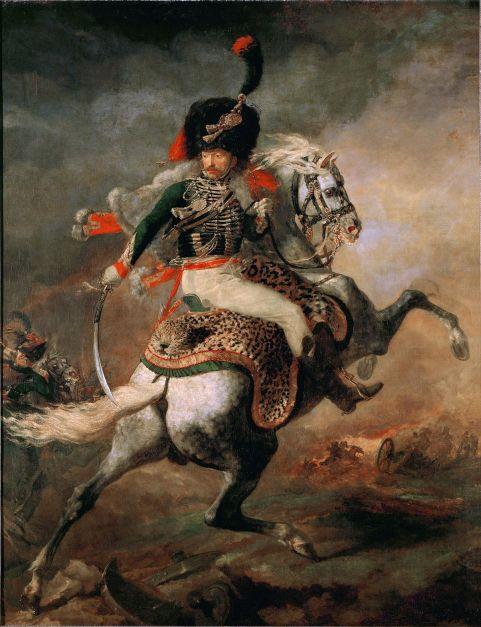Theodore Géricault - de Bevelhebber te paard
