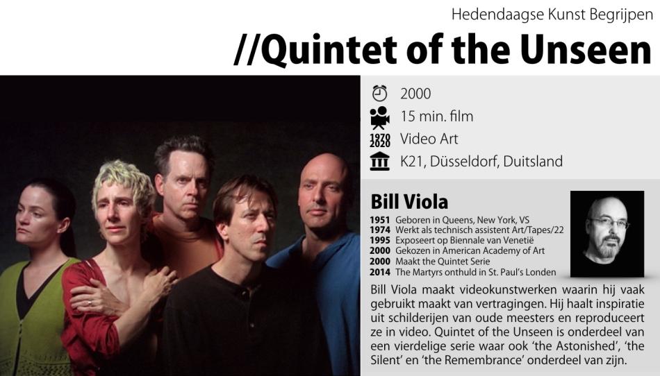Bill Viola - Quintet of the Unseen