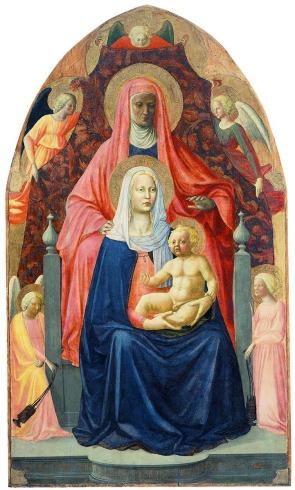 Masaccio - Anna te Drieën