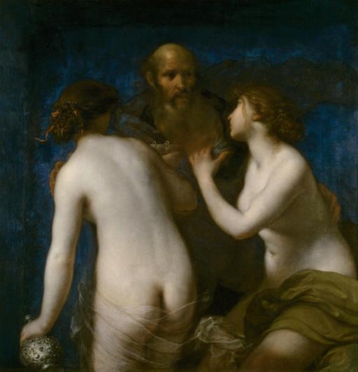 Francesco Furini - Lot en zijn dochters