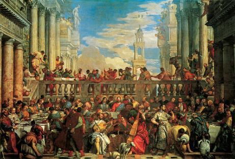 Paolo Veronese - de Bruiloft te Cana