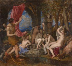 Titiaan - Diana en Actaeon