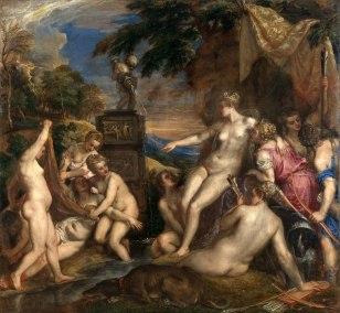 Titiaan - Diana en Callisto