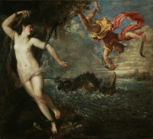 Titiaan - Perseus en Andromeda