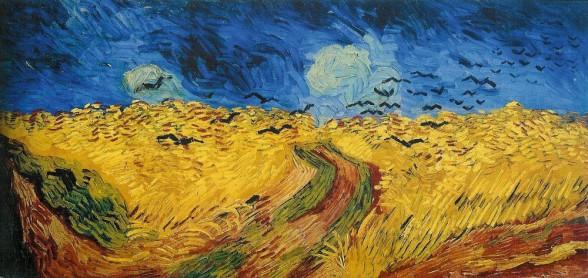 Vincent van Gogh - Korenveld met Kraaien
