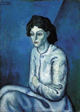 Pablo Picasso - Vrouw met gekruiste armen