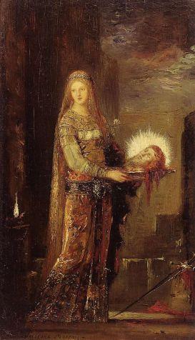 Gustave Moreau - Salomé met het hoofd van Johannes de Doper