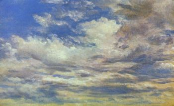 John Constable - Clouds (sketch)