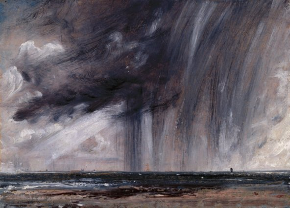 John Constable - Observing the weather