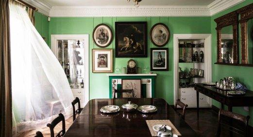 Longwood House - Groene kamer