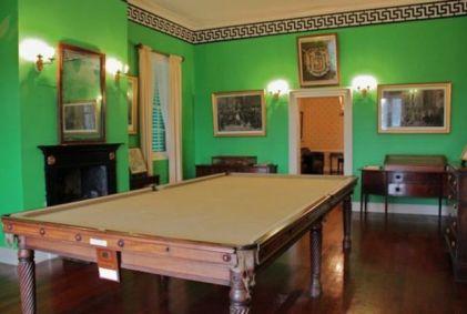 Longwood House - Biljartkamer