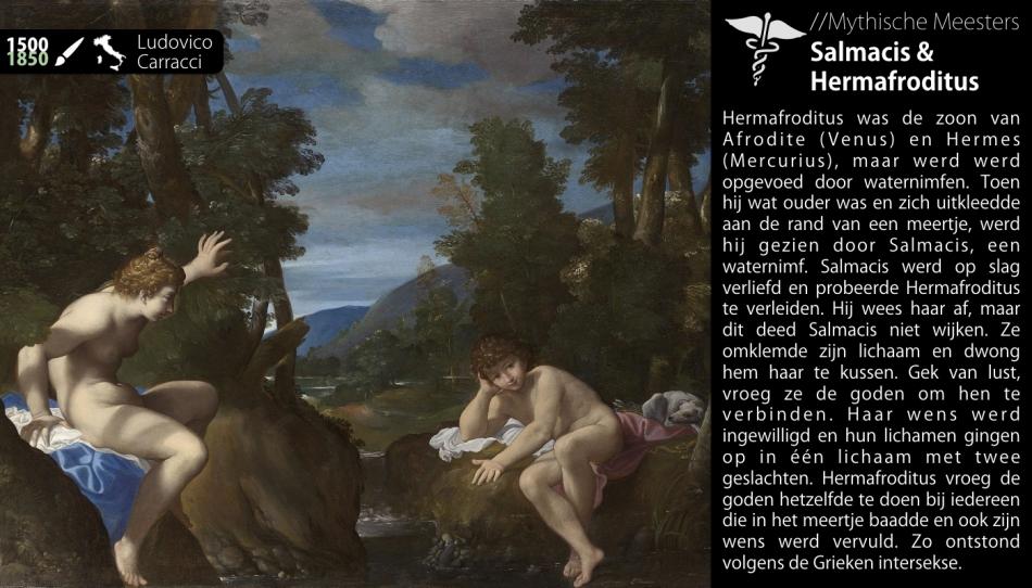 Salmacis en Hermafroditus