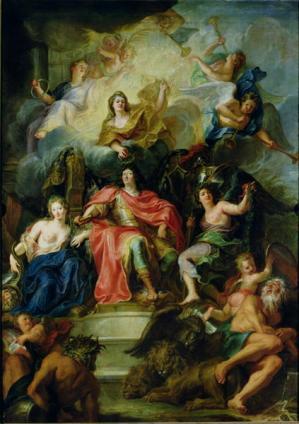Antoine Coypel - Lodewijk XIV
