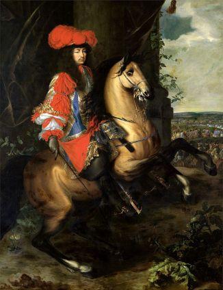 Charles Le Brun - Lodewijk XIV te paard