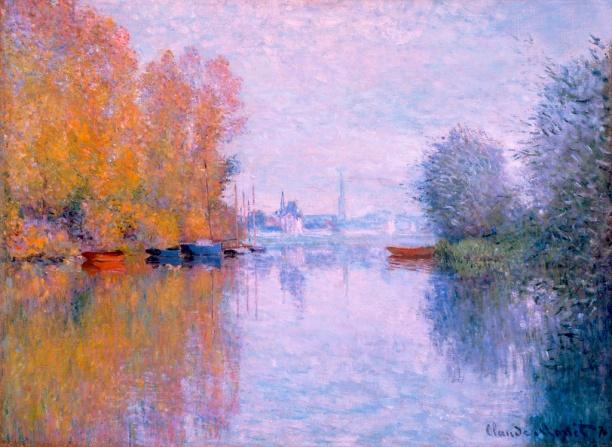 Claude Monet - Herfst aan de Seine