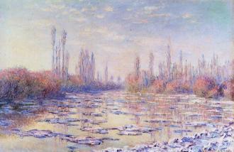 Claude Monet - Les Glacons