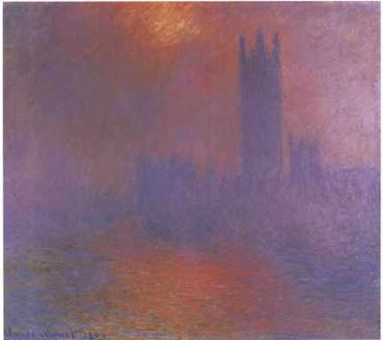 Claude Monet - Parlement in Londen
