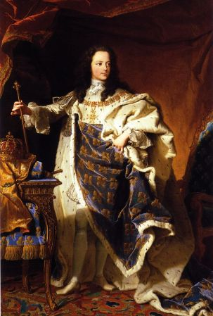 Hyacinthe Rigaud - Lodewijk XV (12 jaar)